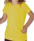 3316 Rabbit Skins® Toddler Girls Fine Jersey T-Shirt YELLOW