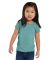 3316 Rabbit Skins® Toddler Girls Fine Jersey T-Shirt CHILL