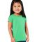 3316 Rabbit Skins® Toddler Girls Fine Jersey T-Shirt CARIBBEAN