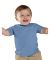 3322 Rabbit Skins Infant Fine Jersey T-Shirt CAROLINA BLUE