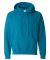 18500 Gildan Heavyweight Blend Hooded Sweatshirt ANTIQUE SAPPHIRE