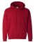18500 Gildan Heavyweight Blend Hooded Sweatshirt ANTIQ CHERRY RED