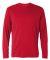 CW26 Champion Logo Performance Long-Sleeve T-Shirt Scarlet