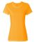 Fruit of the Loom Ladies Heavy Cotton HD153 100 Cotton T Shirt L3930 Gold