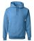 996M JERZEES® NuBlend™ Hooded Pullover Sweatshirt Columbia Blue