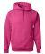 996M JERZEES® NuBlend™ Hooded Pullover Sweatshirt Cyber Pink