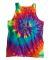 Dyenomite 420MS Multi-Color Spiral Unisex Tank Top