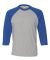 6930 LA T Adult Vintage Baseball T-Shirt VN HTH/ VN ROYAL