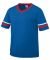 Augusta Sportswear 361 Youth V-Neck Football Tee Royal/ Red/ White