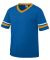 Augusta Sportswear 361 Youth V-Neck Football Tee Royal/ Gold/ White