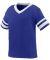 Augusta Sportswear 362 Toddler Sleeve Stripe Jersey Purple/ White