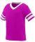 Augusta Sportswear 362 Toddler Sleeve Stripe Jersey Power Pink/ White