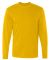 HD6L Fruit of the Loom Adult Lofteez HDLong-Sleeve T-Shirt Gold