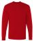 HD6L Fruit of the Loom Adult Lofteez HDLong-Sleeve T-Shirt True Red