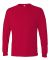 949 Anvil Adult Long-Sleeve Fashion-Fit Tee Red