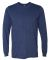 949 Anvil Adult Long-Sleeve Fashion-Fit Tee Heather Blue