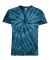 Dyenomite 20BCY Youth Cyclone Vat-Dyed Pinwheel Short Sleeve T-Shirt Navy