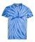 Dyenomite 20BCY Youth Cyclone Vat-Dyed Pinwheel Short Sleeve T-Shirt Royal