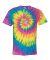 Dyenomite 200RP Ripple Pigment Dyed T-Shirt Pastel Ripple