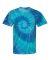 Dyenomite 200RP Ripple Pigment Dyed T-Shirt Blue Ripple