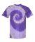 Dyenomite 200RP Ripple Pigment Dyed T-Shirt Purple Ripple