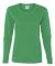 5400L Gildan Missy Fit Heavy Cotton Fit Long-Sleeve T-Shirt IRISH GREEN