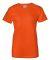 2000L Gildan Ladies' 6.1 oz. Ultra Cotton® T-Shirt ORANGE