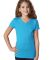Next Level 3740 The Adorable V TURQUOISE