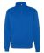 JERZEES 995 Adult New Blend Zip Cadet Collar Sweatshirt 995M Royal