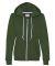 71600FL Anvil Ladies' Fashion Full-Zip Blended Hooded Sweatshirt City Green