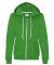 71600FL Anvil Ladies' Fashion Full-Zip Blended Hooded Sweatshirt Green Apple
