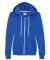 71600FL Anvil Ladies' Fashion Full-Zip Blended Hooded Sweatshirt Royal Blue