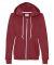 71600FL Anvil Ladies' Fashion Full-Zip Blended Hooded Sweatshirt Independence Red