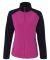 Colorado Clothing 7206 Women's Steamboat Microfleece Jacket Sangria/ Black