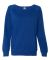 SS240 Independent Trading Co. Junior's Lightweight Crewneck Sweatshirt Cobalt