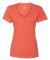 S04V Nano-T Women's V-Neck T-Shirt Vintage Orange