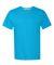 4200 Hanes - X-Temp™ Vapor Control Performance Shirt Neon Blue Heather