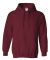 18500 Gildan Heavyweight Blend Hooded Sweatshirt GARNET
