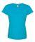 3505 LAT - Ladies' Vintage Fine Jersey Longer Length T-Shirt VINTAGE TURQ