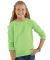 LAT 2652 Girls' Slouchy French Terry Pullover