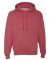 996M JERZEES® NuBlend™ Hooded Pullover Sweatshirt Vintage Heather Red