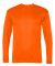 5104 C2 Sport Adult Performance Long-Sleeve Tee Safety Orange