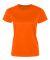 C5600 C2 Sport Ladies Polyester Tee Safety Orange