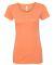 BELLA 8413 Womens Tri-blend T-shirt ORANGE TRIBLEND
