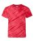 Dyenomite 20BTS Youth One Color Tiger Stripe T-Shirt Red