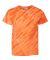 Dyenomite 20BTS Youth One Color Tiger Stripe T-Shirt Orange