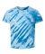Dyenomite 20BTS Youth One Color Tiger Stripe T-Shirt Royal