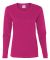 5400L Gildan Missy Fit Heavy Cotton Fit Long-Sleeve T-Shirt HELICONIA