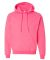 18500 Gildan Heavyweight Blend Hooded Sweatshirt SAFETY PINK