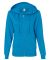 LAT 3763 Women's Zip French Terry Hoodie COBALT